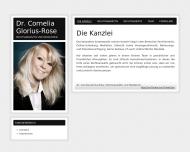 Bild Glorius-Rose Cornelia Dr. Rechtsanwältin
