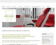 Website Zahnarztpraxis Dres. Gokel