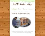 Bild Webseite Lei-Ma Bodenbeläge München