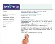 Bild van Lier Bodo Praxis für Krankengymnastik und Manuelle Therapie