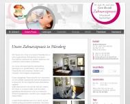 Website Berndt Gero Dr. Dr. Zahnarzt