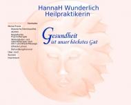 Bild Webseite Wunderlich Hanna Nürnberg