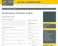 Website Auto Langmayr 1 A Autoservice