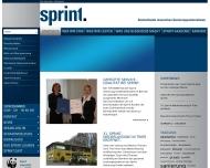 firma sprint wasserschaden