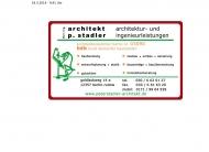 Bild Webseite Stadler Peter Architekten Berlin