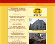 Bild Webseite Meyer zum Wischen Michael Dr.med. Facharzt für Psychotherapeutische Medizin Köln