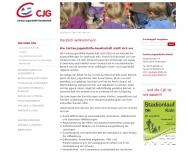 Bild Webseite Caritas-Jugendhilfe Gesellschaft Köln