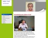 Website Graf Alfons Rechtsanwalt