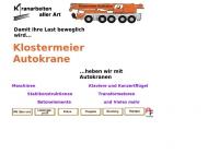 Bild Klostermeier Autokrane