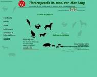 Herzlich Willkommen in der Tierarztpraxis Dr. Max Lang