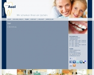 Website Asal Matthias Zahnarzt