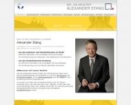 Bild Webseite Stang Alexander Dipl.-Ing. Architekt Berlin
