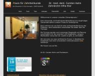 Zahnarztpraxis Bielefeld Zahnarzt Dr. Carsten Hahn, Zahn?rztin Olha Klar