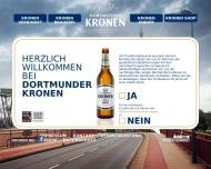 Website Dortmunder Actien-Brauerei