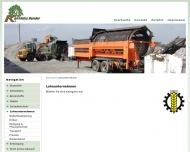 Website Bender Karl-Heinz Landtechnisches Lohnunternehmen