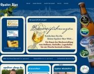 Bild Webseite Stadtbrauerei Spalt Spalt