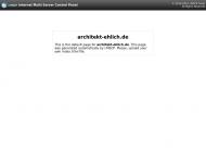 Bild Webseite Ehlich Rainer Dipl.-Ing. Architekt Dresden