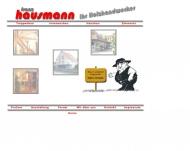 Bild Webseite HAUSMANN FRANZ Spalt
