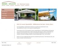 Bild Webseite Krahe Manfred Zimmerei Bonn