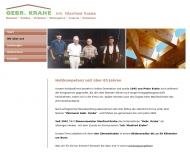 Website Krahe Manfred Zimmerei