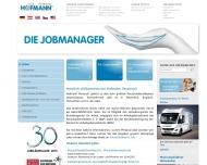 Bild Webseite Hofmann I. K. Köln