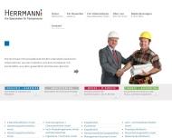 Bild Webseite Herrmann Personaldienste Köln