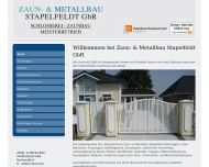 Stapelfeldt Wilhelm Metallbau Jersbek Zaune