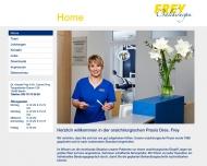 Bild Webseite Frey Harald Zahnarzt für Oralchirurgie Berlin