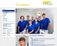 Website Frey Harald Zahnarzt für Oralchirurgie