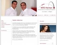 Bild Webseite  Herten