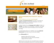 Bild Webseite Besel S. Dr. med. dent. Aachen
