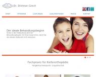 Bild Czech Dietmar Dr.med.dent. Fachzahnarzt für Kieferorthopädie