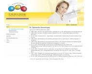 Website Gremminger A. Dr. med. dent. Kieferorthopädin