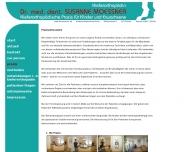 Website Moessner Susanne Dr. Praxis für Kieferorthopädie