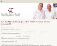 Bild Webseite Dr. Wollenweber Dr. Maas Zahnärzte Hamburg