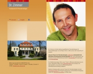 Bild Webseite Zimmer Wolfgang M. Dr. M.S. Periodont. (Mayo Clinic USA) Zahnarzt München