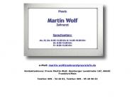 Bild Webseite Wolf Martin Frankfurt