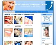 Zahnarzt N?rnberg Dr.W?lfel aus N?rnberg -M?geldorf Gesunde Z?hne strahlendes Lachen