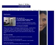 Bild Webseite Wilke Berto Zahnarzt Hamburg