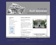 Bild Webseite  Burgbernheim