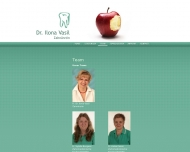 Website Vasil Ilona Dr. IM Temeschburg