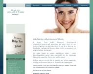 Bild Webseite Timm Holger Dr. Zahnarzt Hamburg