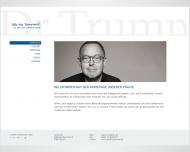 Bild Webseite Trump Martin Zahnarzt Berlin