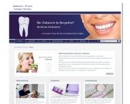 Bild Webseite Siemen Gunnar Zahnarztpraxis Hamburg