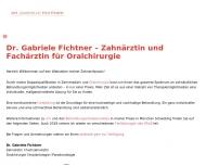 Bild Webseite Fichtner Gabriele Dr. u. Selmair Isabel Dr. Zahnärzte München