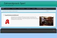 Website Mathias Sperl