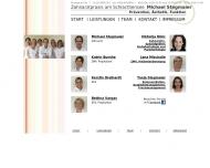 Website Michael Stegmaier Zahnarztpraxis am Schlachtensee Zahnarzt