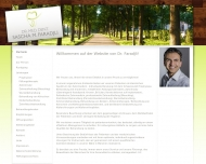 Bild Webseite Faradjli Sascha Dr. Zahnarzt München
