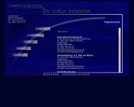 Website Schimmel Volker Dr. Zahnarzt