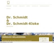 Bild Schmidt Reinhard Dr. Zahnarzt u. Timo Zahnarzt
